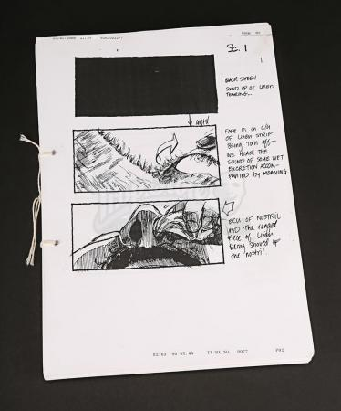 Lot # 1 - A KNIGHT'S TALE - Set of Storyboards