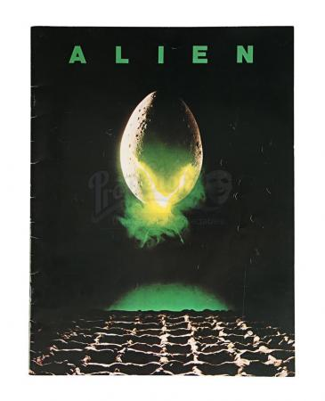 Lot # 4 - ALIEN - Promotional Booklet