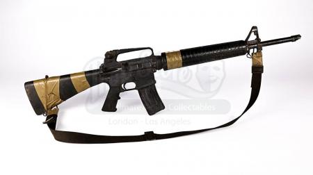 Lot # 25 - BLACK HAWK DOWN - Ranger's Stunt M16 Rifle