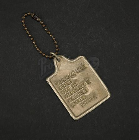 Lot # 33 - CAPTAIN CORELLI'S MANDOLIN - Dog Tag