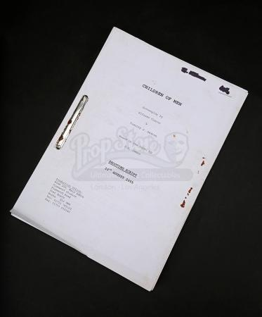 Lot # 36 - CHILDREN OF MEN - Production-Used Script