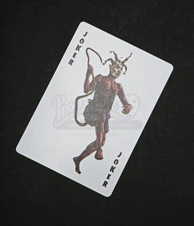 Lot # 48 - DARK KNIGHT, THE - Joker Card - Devil