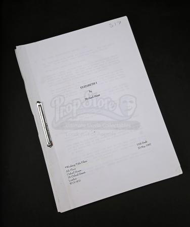 Lot # 69 - ELIZABETH - Production-Used Script