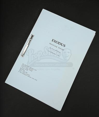Lot # 76 - EXODUS: GODS AND KINGS - Shooting Script