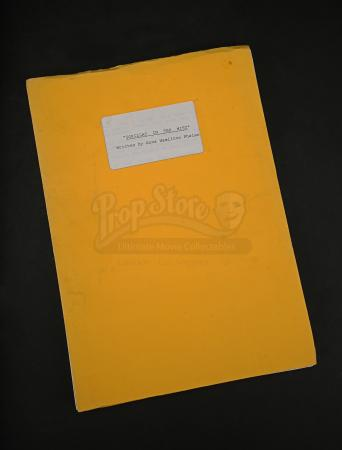 Lot # 87 - GORILLAS IN THE MIST - Production-Used Script