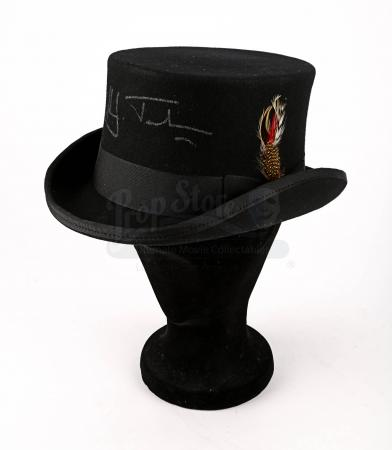 Lot # 93 - GREATEST SHOWMAN, THE - Hugh Jackman Signed Top Hat