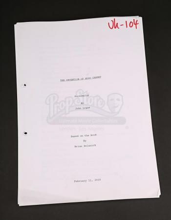 Lot # 97 - HUGO - Production-Used Script