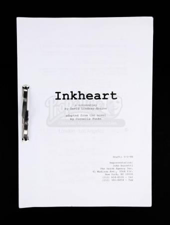 Lot # 100 - INKHEART - Production-Used Script