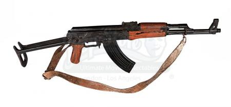 Lot # 109 - JAMES BOND: DIE ANOTHER DAY - North Korean Soldier's AKS Rifle