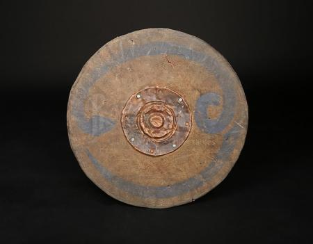 Lot # 117 - KING ARTHUR - Woad Warrior's Wooden Shield