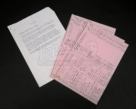 Lot # 127 - LABYRINTH - Set Detail Paperwork