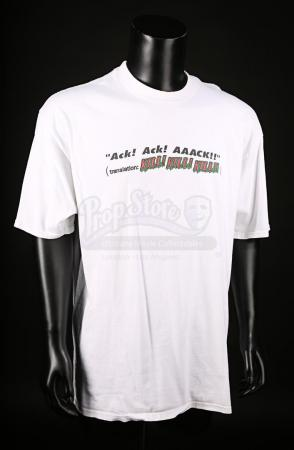 Lot # 134 - MARS ATTACKS! - ILM Crew T-Shirt