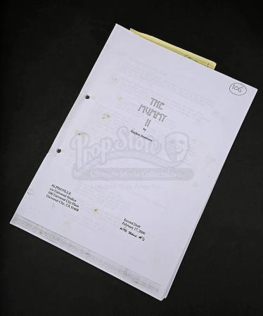 Lot # 138 - MUMMY RETURNS, THE - Production-Used Script