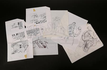 Lot # 139 - MUMMY RETURNS, THE - Concept Drawings