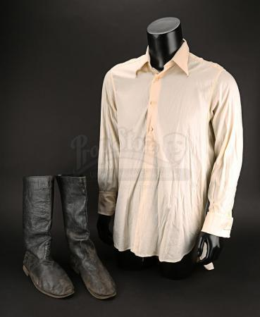 Lot # 143 - MUMMY, THE - Jonathan Carnahan's (John Hannah) Shirt and Boots