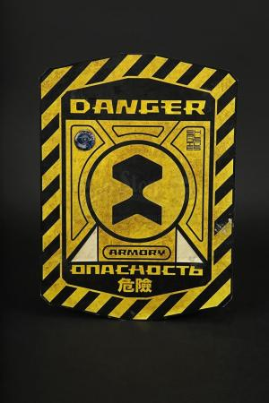 Lot # 144 - PANDORUM - Armoury Warning Sign