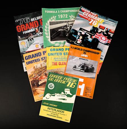 Lot # 157 - RUSH - Selection of Circuit Programmes