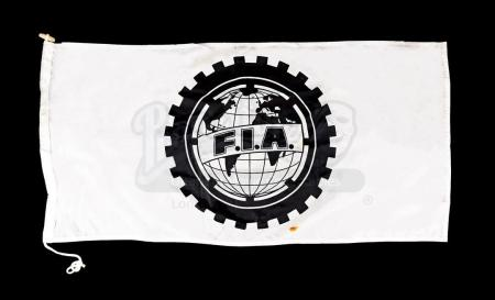 Lot # 158 - RUSH - FIA Flag