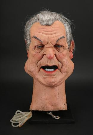 Lot # 2 - Donald Sinden Puppet Head