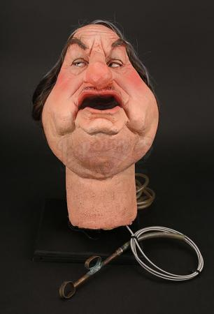 Lot # 9 - Sir John Harvey-Jones Puppet Head