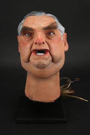 Lot # 14 - Patrick Mayhew Puppet Head