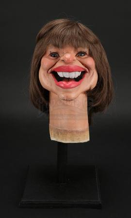 Lot # 34 - Tatum O'Neal Puppet Head