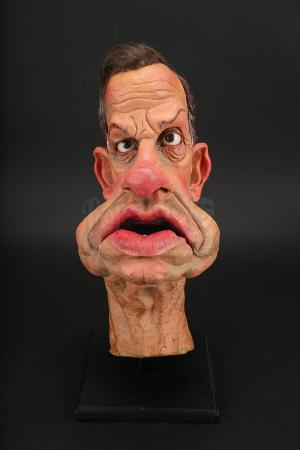 Lot # 35 - Geoffrey Palmer Puppet Head