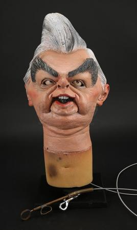 Lot # 36 - Norman Lamont Puppet Head