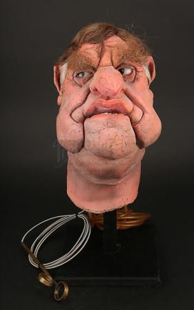 Lot # 38 - Sir Bernard Ingham Puppet Head