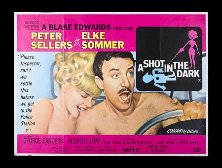 Lot #40 - A SHOT IN THE DARK (1964) - UK Quad Poster 1964