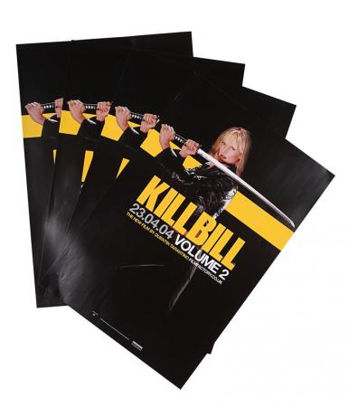 Lot #74 - KILL BILL: VOLUME 2 (2004) - Four UK Double-Crown Advance Posters 2004