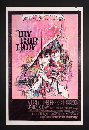 Lot #112 - MY FAIR LADY (1964) - US One-Sheet Poster 1964