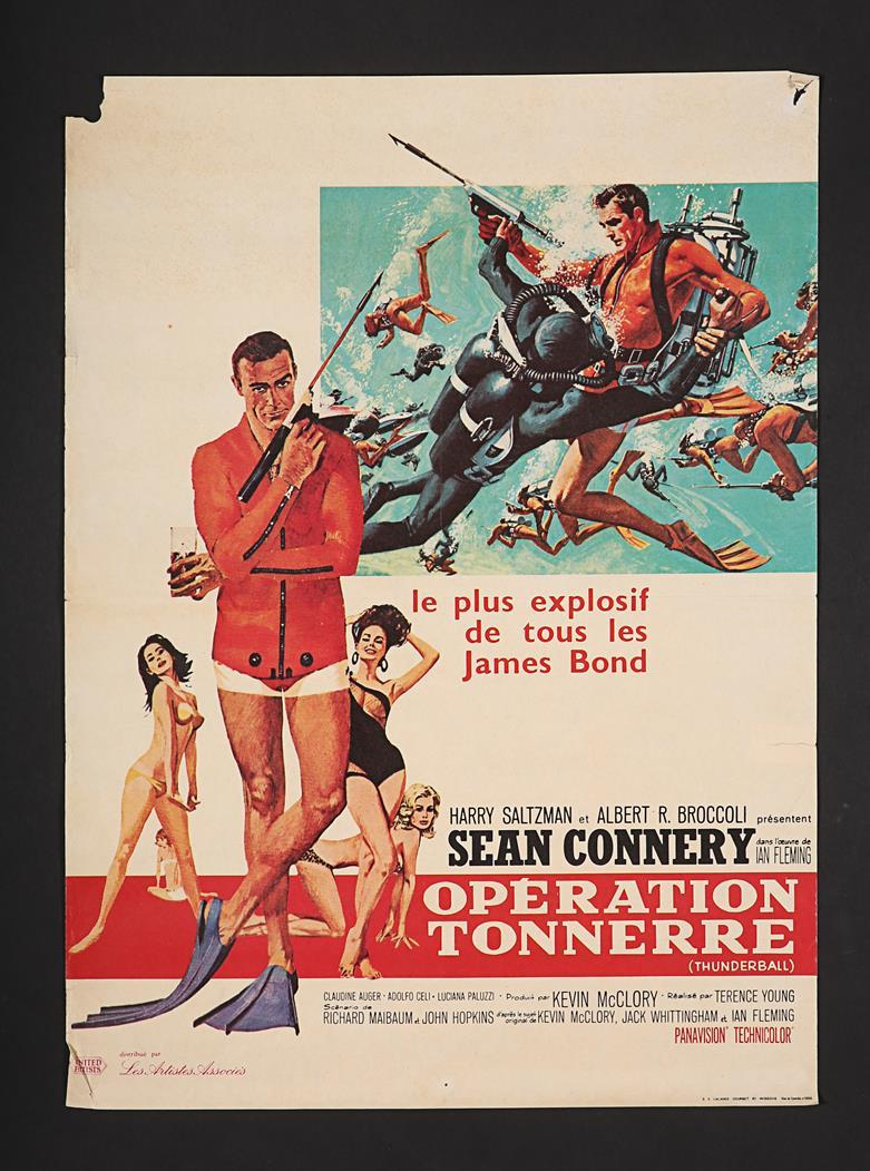 Lot #130 - JAMES BOND: THUNDERBALL (1965) AND YOU ONLY LIVE TWICE