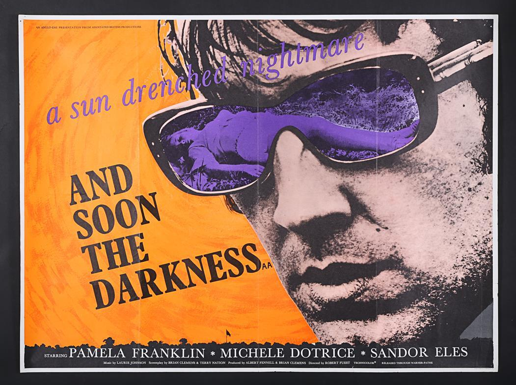 Lot #259 - AND SOON THE DARKNESS (1970) - UK Quad and Double Crown ...