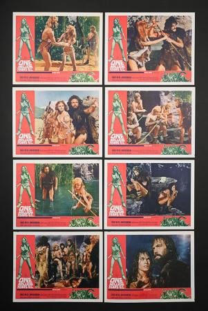 Lot #281 - ONE MILLION YEARS BC (1966) - Set of Eight US Lobby Cards 1966