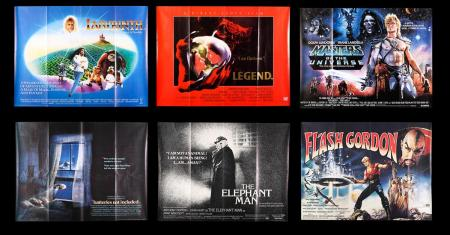 Lot #5 - VARIOUS PRODUCTIONS (MOST 1980S SCI-FI-FANTASY) - Sixteen UK Quad Posters most 1980s