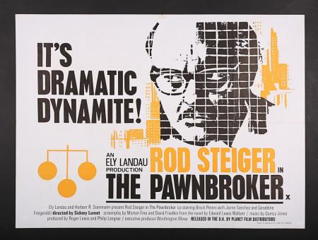 Lot #9 - THE PAWNBROKER (1964) - UK Quad Poster 1964