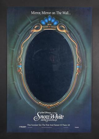 "Lot #212 - SNOW WHITE AND THE SEVEN DWARFS (1937) - US One-Sheet ""Mirror"" Poster 1993 Re-Release"
