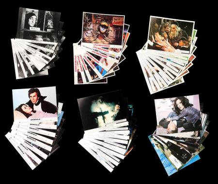 Lot #251 - VARIOUS PRODUCTIONS (1972-86) - Six UK/US Front-of-House Stills Sets 1972-86