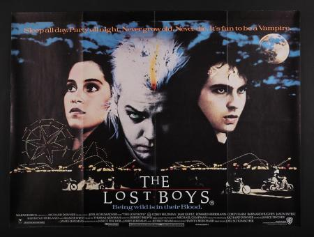 Lot #304 - THE LOST BOYS (1987) - UK Quad Poster 1987