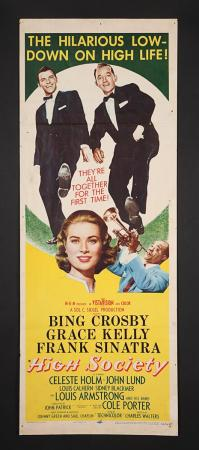 Lot #337 - HIGH SOCIETY (1956) - US Insert Poster 1956