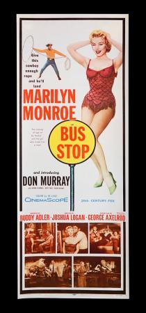 Lot #338 - BUS STOP (1956) - US Insert Poster 1956
