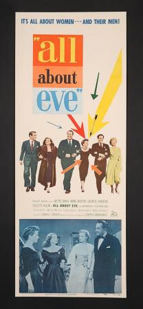 Lot #339 - ALL ABOUT EVE (1950) - US Insert Poster 1950