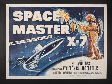 Lot #362 - SPACE MASTER X-7 (1958) - UK Quad Poster 1958