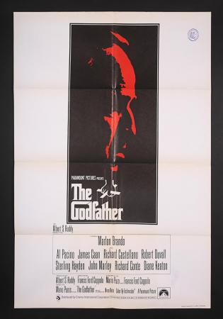 Lot #77 - THE GODFATHER (1972) - UK One-Sheet Poster 1972