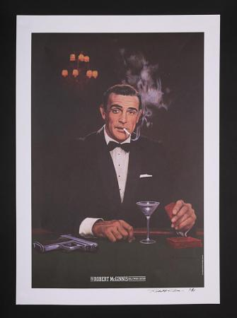Lot #166 - JAMES BOND: THE ROBERT MCGINNIS HOLLYWOOD EDITION (C 2000S) - Autographed Limited Edition Print c 2000s