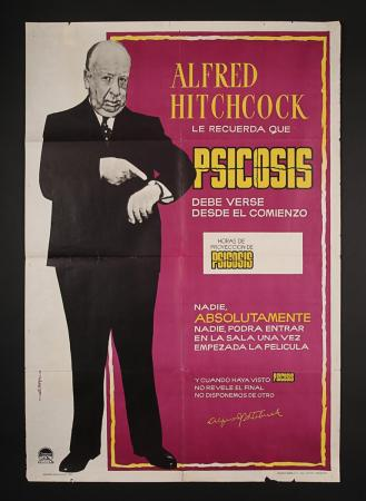 "Lot #199 - PSYCHO (1960) - Spanish ""Style-B"" One-Sheet Poster"