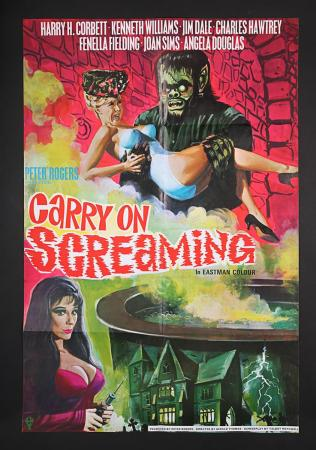 Lot #27 - CARRY ON SCREAMING (1966) - UK One-Sheet Poster 1966
