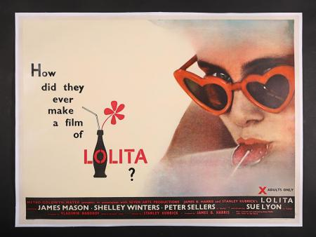 Lot #3 - LOLITA (1962) - UK Quad Poster 1962