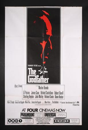 "Lot #76 - THE GODFATHER (1972) - UK ""West End"" Bus Stop Poster 1972"
